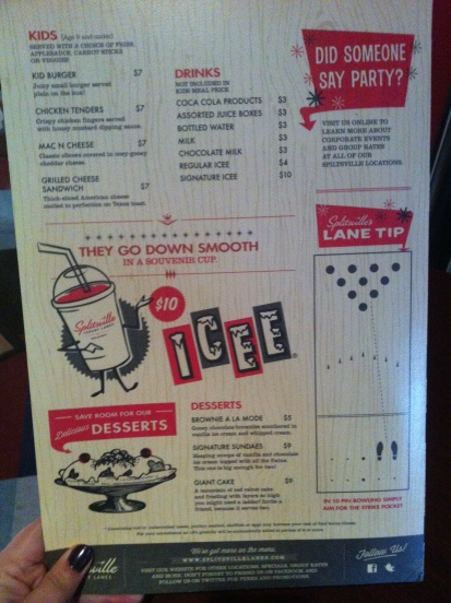Splitsville Menu 3