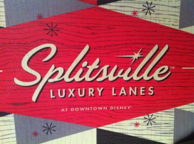 Splitsville Downtown Diseny